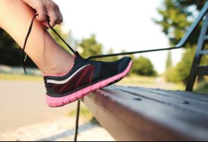 running, blisters